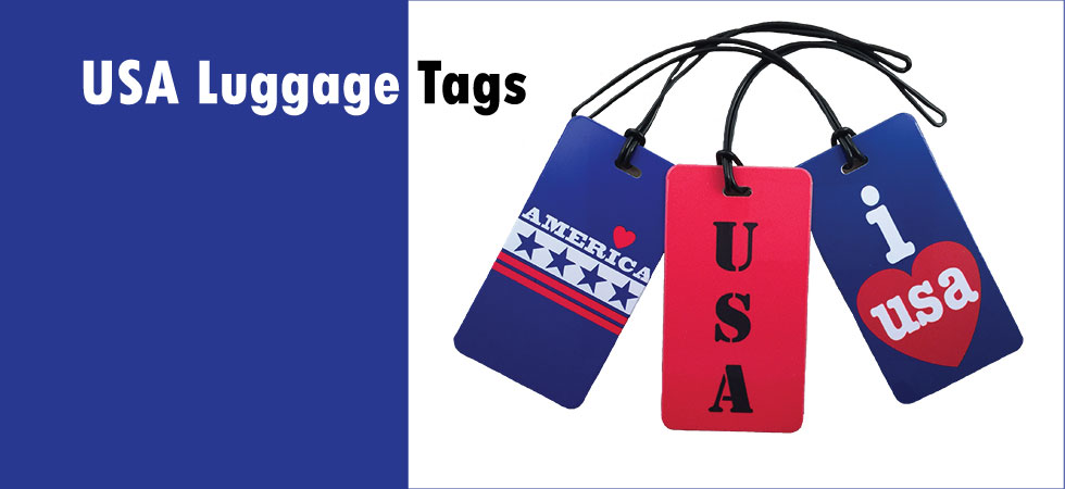 usa luggage tags