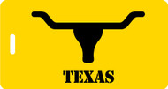 Texas Longhorn luggage tag - Inventive Travelware