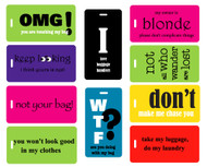 10pc Best Seller Luggage Tag Value Pack