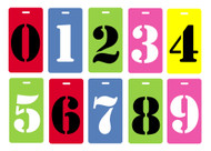 number luggage tag value pack