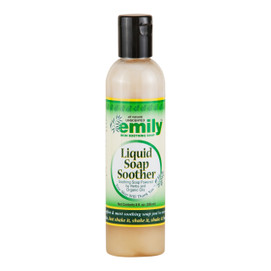 A natural body wash for eczema by Emily Skin Soothers.