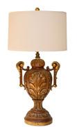 Acanthus Leaf Urn Lamp