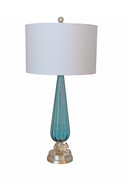 Vintage Restored Murano Glass Lamp