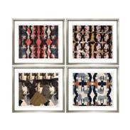 """Trowbridge """"Mick Jagger"""" Prints - Set of 4"""