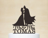 Cake topper Batman Boda