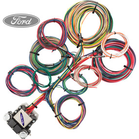 restoration wiring for gm ford plymouth buick oldsmobile 8 circuit ford restoration wiring harness