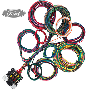8 circuit wiring budget ford 1__77752.1474411644.285.365?c=2 wire harnesses ford streetrodelectrics com Universal Hot Rod Wiring Harness at crackthecode.co