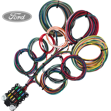 14 circuit wiring budget ford 1__08580.1474410962.450.800?c=2 14 circuit ford budget restoration wiring harness ford wiring harness at bakdesigns.co