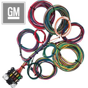 8 Circuit GM Budget Restoration Wiring Harness