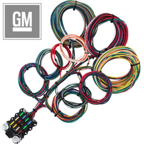 14 Circuit GM Budget Restoration Wiring Harness