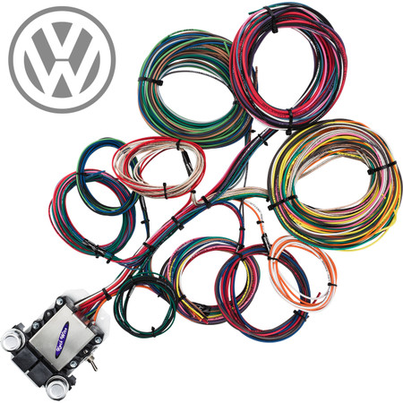 vw wiring harness vw image wiring diagram 14 circuit vw corvair wiring harness streetrodelectrics com on vw wiring harness