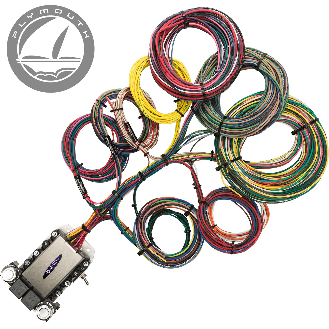 20 circuit plymouth restoration wiring harness streetrodelectrics