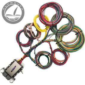 20 Circuit Plymouth Restoration Wiring Harness