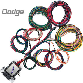 14 Circuit Dodge Restoration Wiring Harness