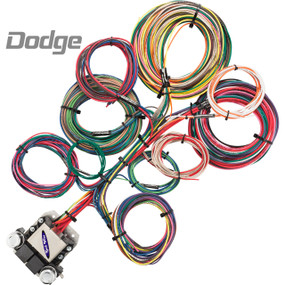 8 Circuit Dodge Restoration Wiring Harness
