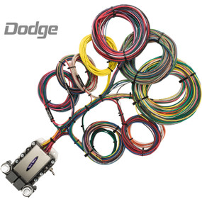 20 Circuit Dodge Restoration Wiring Harness