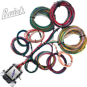 14 Circuit Buick Restoration Wiring Harness