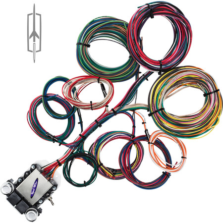 14 circuit oldsmobile restoration wiring harness image 1