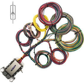20 Circuit Oldsmobile Restoration Wiring Harness