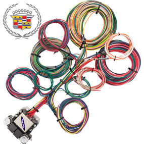 8 Circuit Cadillac Restoration Wiring Harness
