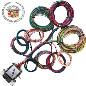 14 Circuit Cadillac Restoration Wiring Harness