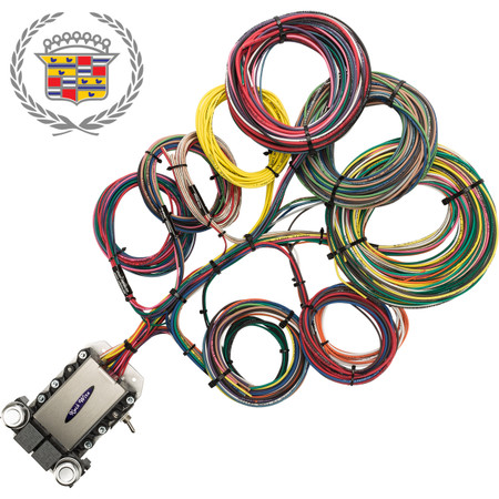 20 circuit cadillac restoration wiring harness image 1