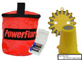 PowerFlare® LED Road Flare Safety Light Cone Kit