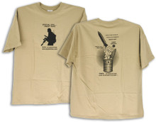 TOPS Knives T-Shirt Operator Large
