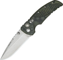 Hogue Medium Tactical Green Drop Point Folder