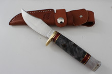 Hess Knifeworks Buckeye Burl Pioneer Knife
