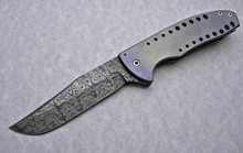 Chuck Gedraitis Custom Small Accentor Flipper Knife