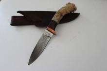 Bill Tyc Custom Damascus Knife