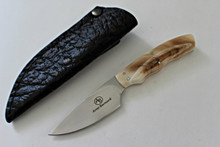 Arno Bernard Squirrel Fixed Blade With Warthog Ivory Handles