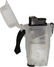 Xikar Clear Rubber Wind Proof Stratosphere Lighter