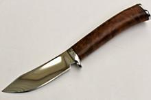 Jim Siska Custom Maple Hunter Knife (Polished)