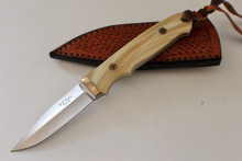 W.D. Pease Custom Loveless Style Fixed Blade Knife