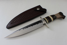 James Behring Jr Crotch Stag Double Skull Fighter Knife
