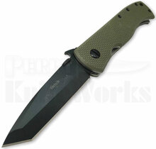 Emerson Knives CQC-7W-BT Jungle Green Knife (Black)