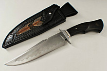 Ben Seward Custom Blackwood Fixed Blade Fighter Knife (Satin)