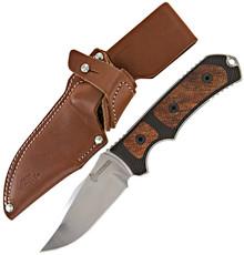 Gerber Legend Fixed Blade Knife G-10/Maple Polished Blade