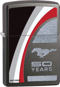 Zippo Ford Mustang 50 Years Lighter Limited