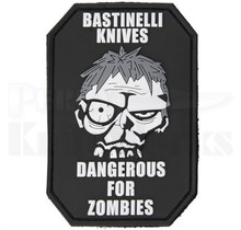 Bastinelli Creations PVC Patch Dangerous For Zombies