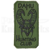 Bastinelli Creations PVC Dahu Hunting Club Patch