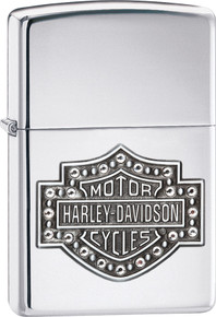 Zippo Harley Davidson Bar & Shield Lighter