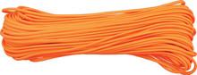 Parachute Cord Neon Orange - 100 ft