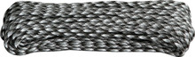 Parachute Cord Urban Camo - (black, gray, white). 100 ft