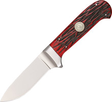Canal Street Cutlery D'Holder Hunter Knife Red Bone