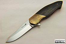 Mike Zscherny Destiny Linerlock Flipper Knife (Faisal Yamin Design)