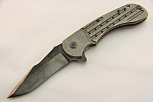 Steven Kelly Ballistic Strike Plate Synergy Ti Framelock Knife