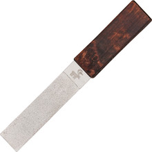 Karesuando Kniven Diamond Sharpener Curly Birch (Dark)